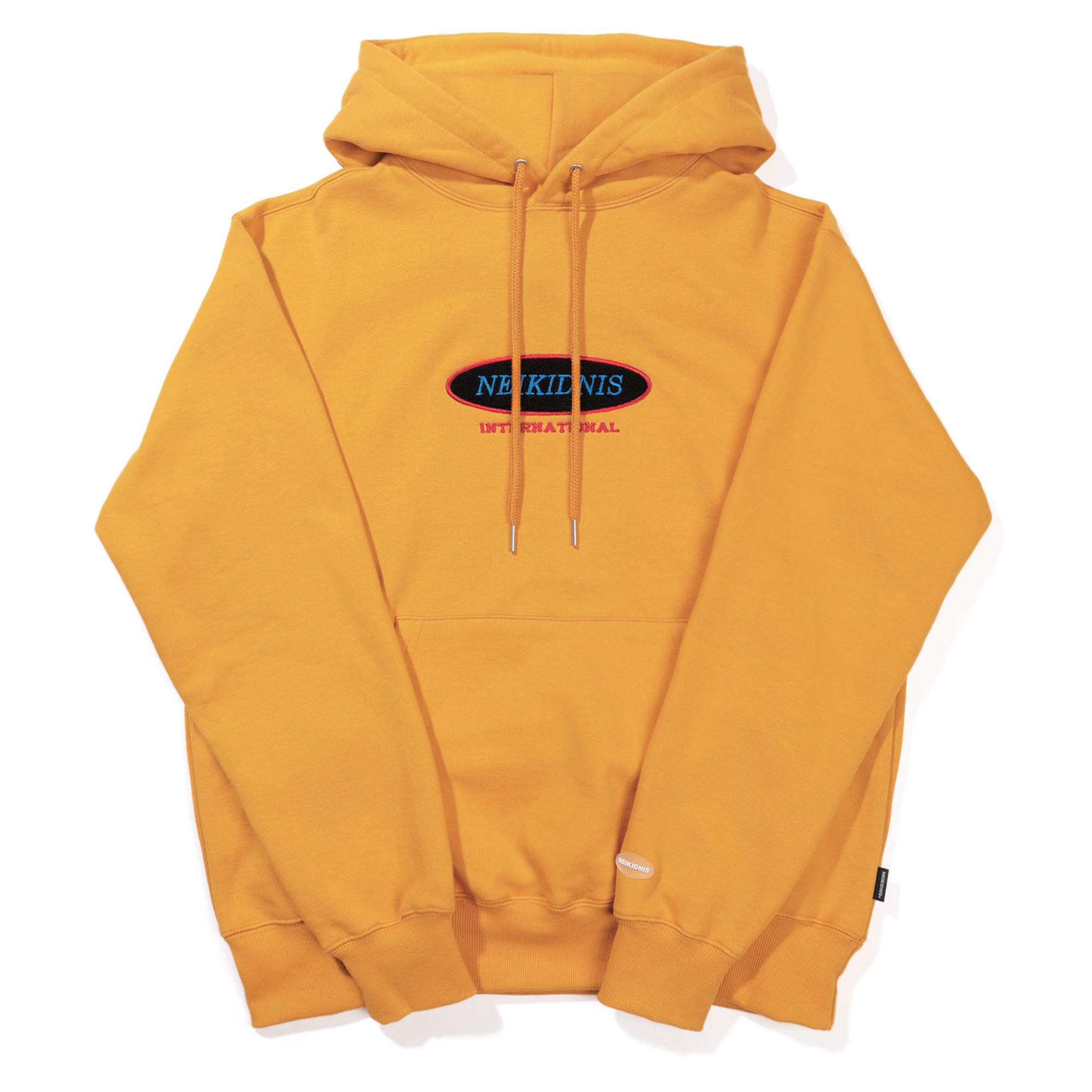 [기모] INTERNATIONAL HOODIE / MUSTARD