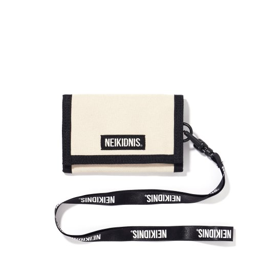 VELCRO WALLET / LIGHT BEIGE