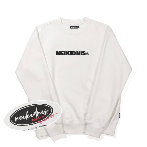 BOLD LOGO SWEAT SHIRT / IVORY